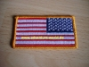 Abzeichen - Patch: US Flagge / Fahne original