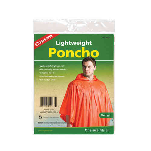 Coghlans Leichtponcho - orange